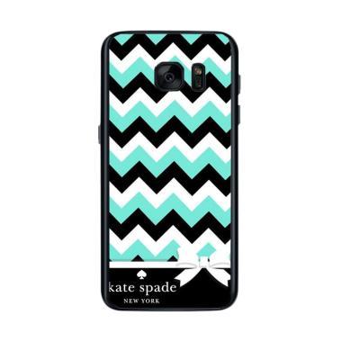 best service 99450 913a4 Acc Hp Kate Spade Chevron Case Z5034 Custom Casing for Samsung Galaxy S7