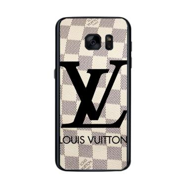 Acc Hp Louis Vuitton Checkered X4868 Custom Casing for Samsung S7