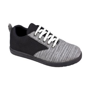 Syaqinah 010 Sepatu Sneaker Anak Laki-Laki - Hitam Kombinasi