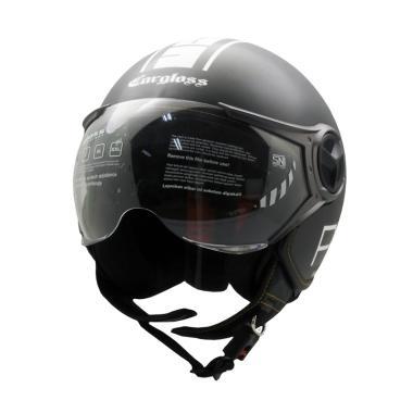 Cargloss YR Protect SG Fitur Kacamata Helm Half Face - Gun Metal 3bdb6c740d