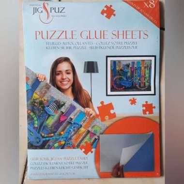 harga Puzzle Glue Sheets Jig N Puz untuk 1000 pcs Jigsaw Puzzle Blibli.com