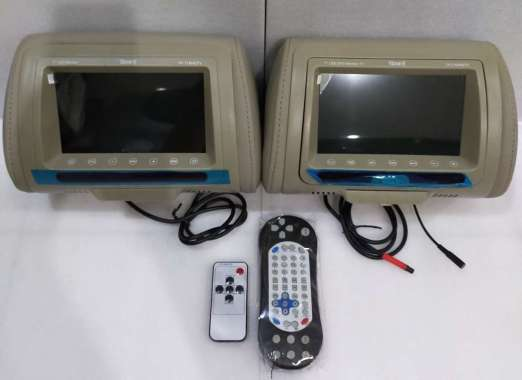 harga Monitor Headrest Thump 710 HDTV Mocca Blibli.com