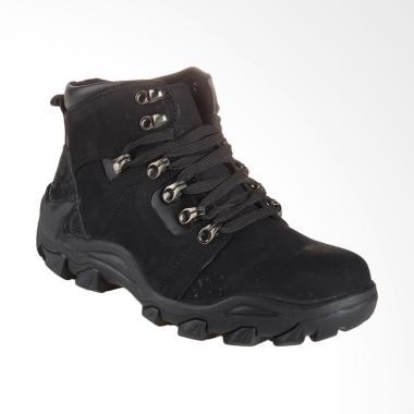 Jim Joker Boot Shoes Oslo 02B Sepatu Pria - Black