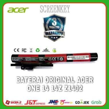 harga Baterai Batrai Original Acer One 14 14Z Z1402 18650-00-01-3S1P-0 Blibli.com