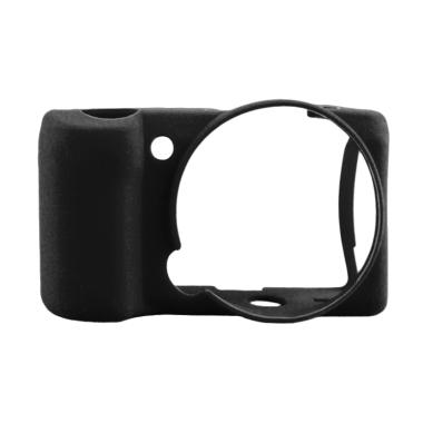 Godric Silicone Case for SONY Alpha Mirrorless A5000 or A5100 - Hitam