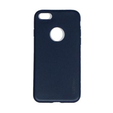 Lize Slim Case Iphone 8 Softcase Iphone 8 Casing iPhone 8 - Biru Tua