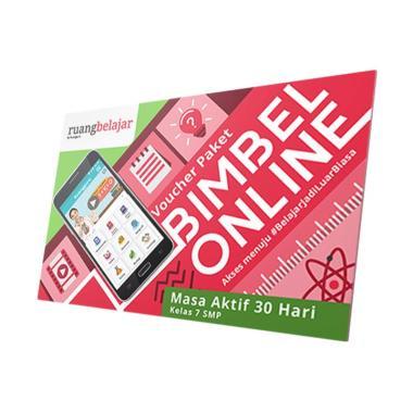 Ruangguru - Paket Bimbel Online Kelas 7 SMP E-Voucher [30 Hari]