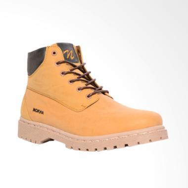 NOKHA Arlo Mustard Sepatu Boots Wanita