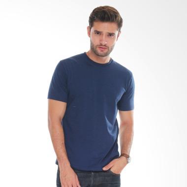 Neils Kaos Polos Bandung T-Shirt Pria - Heather Navy