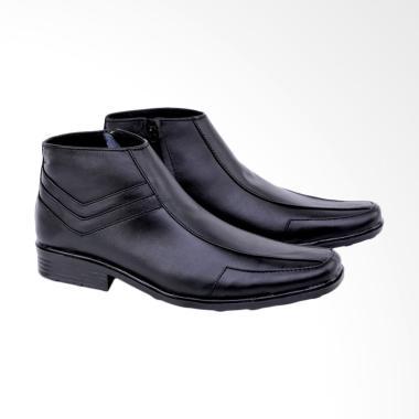 Syaqinah Sepatu Formal Pria - Hitam [065]