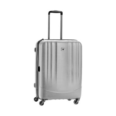 Cat Turbo Spinner Luggage Trolley Bag - Grey [20 Inch]