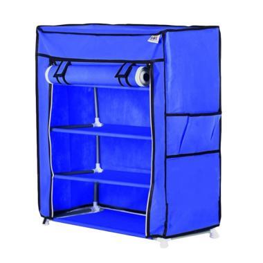 Nine box NBX - S4 4 Susun Rak Sepatu - Biru