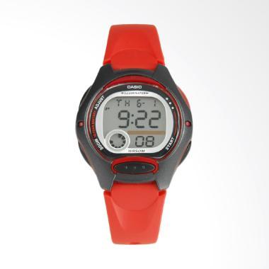 CASIO LW-200-4AVDF Digital Multifunction Jam Tangan Wanita - Red