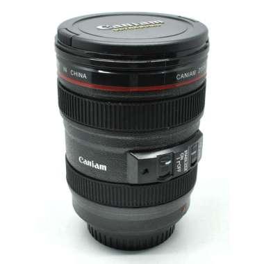 harga Gelas Minum Bentuk Lensa Kamera EF 24-105mm - 400ml Hitam Blibli.com