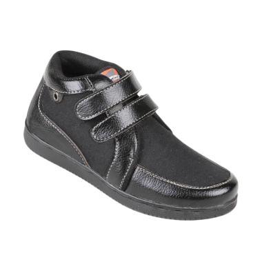 Zeintin ZSAL16 Sepatu Anak Laki - Hitam