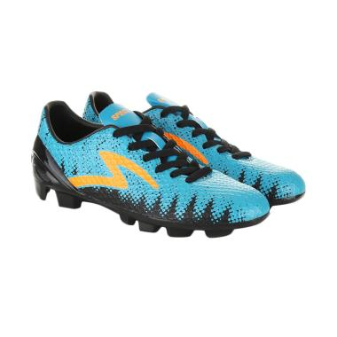 harga Specs Cyanide Wildcat Sepatu Sepakbola - Black Molluset Green Mango Orange Blibli.com