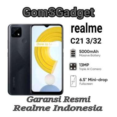 harga Realme C21 3/32 Garansi Resmi Blibli.com
