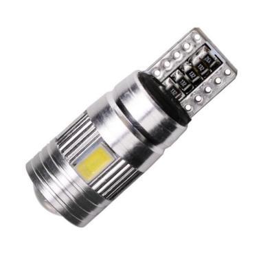 harga JMS T10 W5W Canbus 6 SMD 5630 Chip Cree LED Lampu Senja Mobil atau Motor