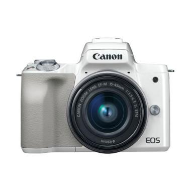 Canon EOS M50 Kit 15-45mm Kamera Mi ... ree Sony Memory Card 8 GB