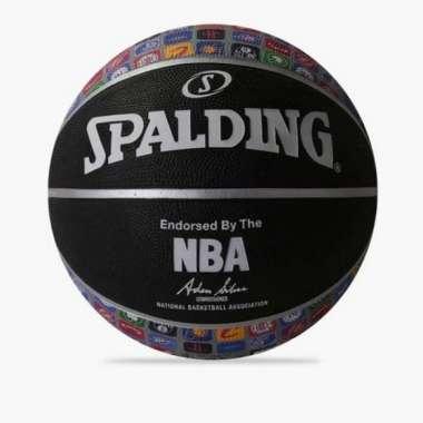 harga Diskon Bola Basket Spalding Logo Icon Basketball Rubber Original Blibli.com