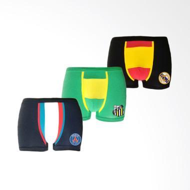 Flyman Man Brief Basic Celana Dalam Fm 3075 Mix Color Review Source · Flyman Boxer Pakaian Dalam Pria Dewasa Multicolor 1 pack 3 pcs FM 3218