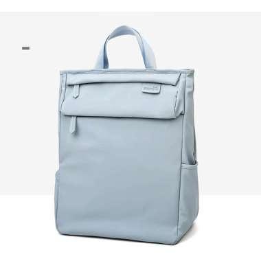 harga Tas Laptop Backpack Ransel Waterproof Large Compartment 14 - 15.6 inch Blue Blibli.com