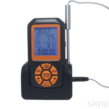 harga Termometer Elektronik Digital Wireless Anti Air Dengan Backlight COD Blibli.com