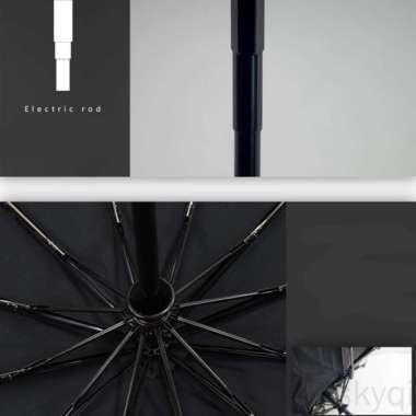 harga Payung Lipat Warna Hitam Model Buka Dan Tutup Otomatis Untuk Pria Blibli.com