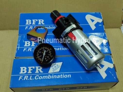 "harga RECOMMEND Air Filter Regulator 1-2"" 10bar AIRTAC BFR4000-04 Blibli.com"