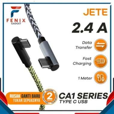 Unik Kabel Data Kabel USB Type C Fast Charging JETE CA1 Garansi 2 Tahun Limited