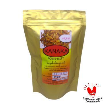 harga Kanaka Ikan Crispy Original Makanan Kering [100 g] Blibli.com