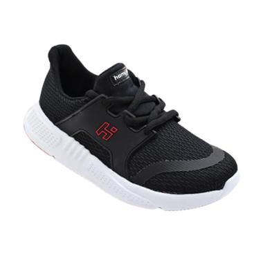 HOMYPED Dash 02 Sepatu Anak Laki-laki - Black White