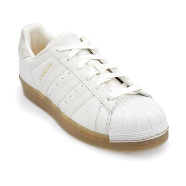 adidas Originals Women Superstar Shoes - White [B37147]