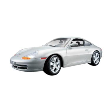 BBurago MBG 008 Porsche 911 Carrera Diecast - Silver [1:24]