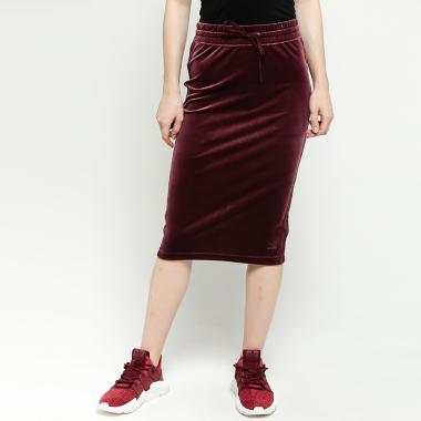 49abfef0c Jual adidas Originals Women VV 3/4 Skirt - Maroon [CW0281] 34 ...