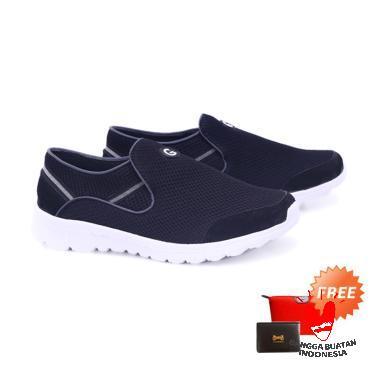 harga Garucci GDF 1291 Sepatu Olahraga Pria - Black + Free Bag Pouch or Dompet Kartu Blibli.com