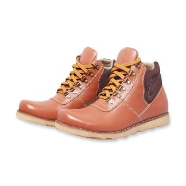 BSM SOGA Kasual Sepatu Boot Pria - Coklat  BSD 003  479019b745