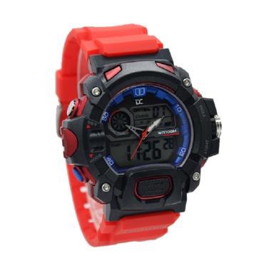 Digitec Collection Dual Time Jam Tangan Pria DA 5004M AJSH 297D50HTGR