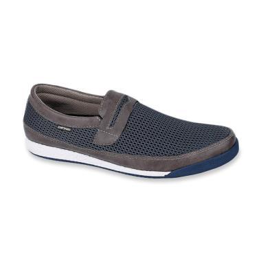 Catenzo Sepatu Slip On Pria ... f20cfa8414