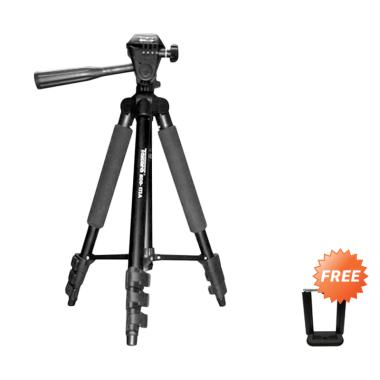 Takara Eco-173A Lightweight Tripod for DSLR Action Camera + Free Holder U A