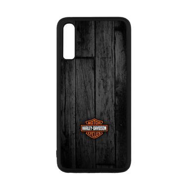 harga Cannon Case Motor Harley Davidson Dark Wood P0905 Custom Hardcase Casing for Samsung Galaxy A70 Blibli.com