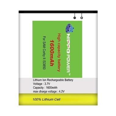harga HIPPO Baterai Handphone for Samsung Corby II S3850 [1600 mAh] Blibli.com