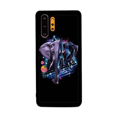 Cannon Case Elephant Cool Art P1275 Custom Hardcase Casing for Samsung Galaxy Note 10 Plus