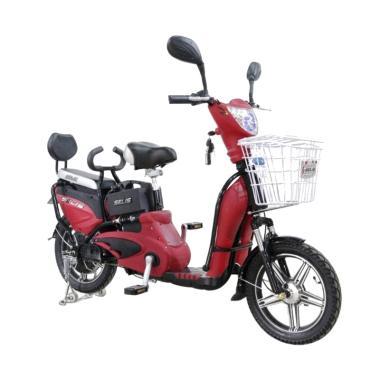 harga Selis Hornet Sepeda Listrik - Merah Doff Blibli.com