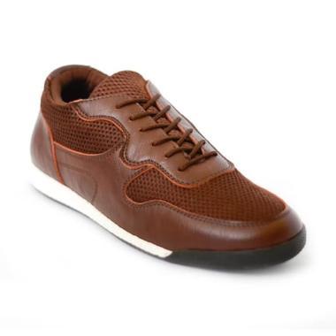 harga Lvnatica Footwear Kulit Casual Sepatu Sneakers Pria [V1591] Blibli.com