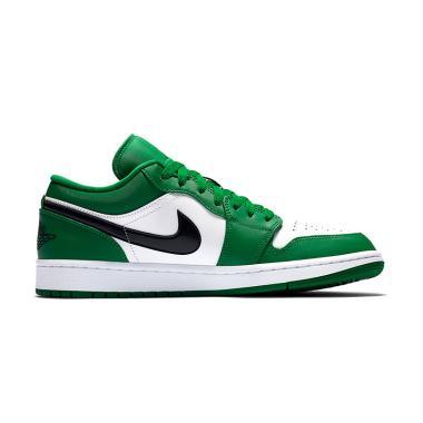 harga NIKE Air Jordan 1 Low Pine Green Sepatu Sneakers Pria Blibli.com
