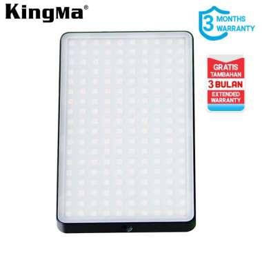 harga Kingma KM-200AI Mini Portable Led Video Light Support Powerbank BLACK Blibli.com
