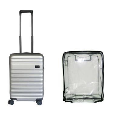 Bagasi Bidara Koper Hardcase Cabin/21 Inch + Luggage Cover Small [Set Bundle]