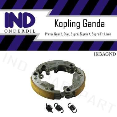harga IND Onderdil Kampas-Kanvas Kopling Ganda Honda Astrea Grand & Prima & Star & Supra & Supra X 100 ABU Blibli.com