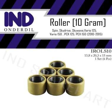 harga IND Onderdil Roller-Roler-Loler-Loller Pemberat 10 Gram-g PCX 125-150-Vario 125-150 PUTIH